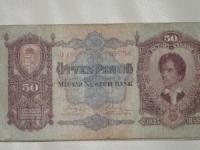 Magyar papírpénz: 50 pengő